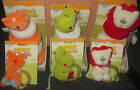 Baby Safari Friends Soft Toy, Ring Stacker & Rattle Sets, Lion, Tiger & Hippo