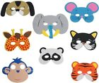 Zoo Animal Foam Face Masks,Childrens Party Loot Bags Free  First Class Post