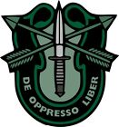 U.S. Army Special Forces Crest Wall Window Vinyl Decal Sticker Military