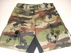 USMC MARINES WOODLAND SCOUT SNIPER  MMA PT S-T-COMP BOARD / FIGHT SHORTS S-2XL