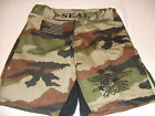 US NAVY SEAL SEALS O/S WOODLAND MMA PT S-T-COMP BOARD SHORTS FIGHT SHORT S - 3XL
