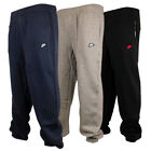 New Nike Fleece Mens Training Joggers Sweat Pants Tracksuit Bottoms Raised logo