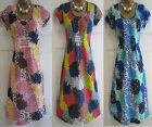 NEW EX BODEN BREEZY BEACH FLORAL BEACH SUMMER TUNIC TOP DRESS  SZ 8 - 18 R & L