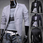 COOL Mens Casual Dress Slim Fit Stylish Suit Blazer Coats Jackets SZ XS S M L XL
