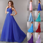 Sexy Women's Beaded Lady Bridal Gowns Prom Evening Formal Party Long Maxi Dress