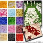 TOP QUALITY SILK ROSE PETALS WEDDING PARTY BANQUET TABLE CONFETTI DECORATIONS