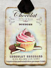 Hang Tags  FRENCH CUPCAKE CHOCOLATE BONBON TAGS or MAGNET #368  Gift Tags