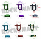 Colored Stainless Steel ADJUSTABLE Shackle  Great for Paracord Bracelets RM2194