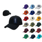 New Decky FitAll Fit All Flex Fitted Baseball Caps Cap Hats Hat 2 Sizes Unisex