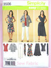 Simplicity 3506 Sewing Pattern Ladies Dress Skirt Trousers Jacket inc. Plus Size