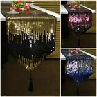 Fashion Double Colors Glitter Sequins Table Runner Wedding Banquet Decoration