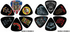 Perri's Guns n Roses Pick / Plectrum Pack - 6 or 12 Picks with Choice of Design
