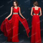 New Long Cocktail Party Ball Gown Evening Prom Dress Bridesmaids Formal Dresses