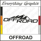 2pcs 4x4 Off Road Ford GMC Dodge Chevy Toyota Truck Bed Vinyl Decal Sticker M6