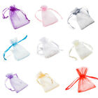 100 Luxury Organza Wedding Favour Gift Bags Jewellery Pouch