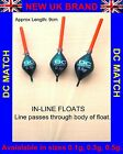 *NEW UK BRAND** POLE FISHING FLOATS IN-LINE DIAMOND *PACK OF 10 FLOATS* Rizov