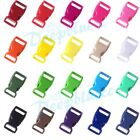 "5/8"" Colorful Contoured Side Release Plastic Buckles for Paracord Free Shipping"