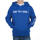 ♦ NEW ANIMAL BOYS FLAKES COBALT BLUE HOODY/HOODED TOP/HOODIE JACKET HOOD 631/Z46