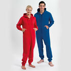 NEW PERSONALISED ADULT WOMENS LADIES MENS ONESIE SUPER SOFT JERSEY ONE PIECE