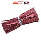 Raffia Paper Ribbon Gift Wedding Decorating Scrapbooks BORDEAUX 2m 10 20 50 100