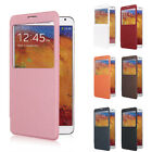 PU Leather Flip Battery Case Cover View for Samsung Galaxy Note 3 III N9000-DX