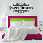 Sweet Dreams Vinyl Art Home Wall We love you Quote Decal Sticker Decoration