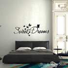Sweet Dreams Butterflies Vinyl Art Home Wall Quote Decal Sticker Decoration Deco