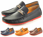 Mens Leather look Casual Loafers Slip on Driving  Shoes Available UK Sizes 6-11