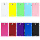Hard PC Back Cover Plastic Case Skin for Sony Xperia C S39h C2305 NEW