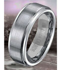 6-8 mm Tungsten Carbide Men/Women Wedding Band Ring Sizes 5-14,5 comfort fit new
