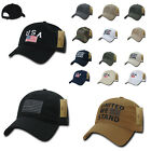 USA American Flag United We Stand Gadsen Baseball Caps Hats Washed Cotton Polo