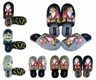 Mens Shoe Slippers Mules Genuine Disney Lovely Gift Warm Cosy Comfy Size 5 - 12