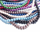 GLASS PEARL BEADS  for Jewellery Making - Lots of Colour Choices Available