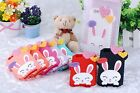 Cute 3D Love Heart Hello Rabbit Pattern Silicone Back Case Cover for iPhone 5C