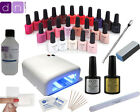 Best Value Professional CCO UV Nail Gel starter kit - FREE 10 Shellac wraps