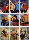 Star Trek Master Series Part 2 CREW TRIPTYCH Card Singles