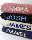 New Personalised Embroidered Bath Sheet with Name 500gsm Egyptian Cotton Towel