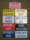 Personalised Number Plate for Little Tikes Ride on Cozy Coupe - Deep Engraved
