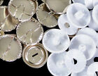 Prym Self Cover Buttons - Metal and Plastic - All Sizes 11 15 19 23 29 38mm
