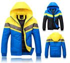 4 Size Men's NEW Fashion Winter Thick Warm Hooded Padded Casual Down Coat Jacket