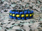 Queens Royal Hussars 550 Paracord Survival Bracelet / Dog Collar Military