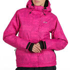 £100 ANIMAL WOMENS NIPPARD PINK WINDPROOF TECHNICAL SKI/SNOW JACKET/COAT 303/Z71