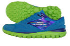Skechers Go Run Girls Leather Running Trainers / Shoes - 80651LBLLM - See Sizes