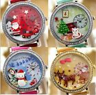 Santa Claus red car star Mini polymer clay watch fashion ladies woman waterproof