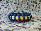 Royal Scots Dragoon Guards 550 Paracord Survival Bracelet / Dog Collar RSDG