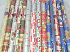 20m Rolls Christmas Xmas Wrapping Paper Gift Wrap Traditional Modern Cute Noel