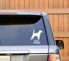 Sticker Dog on Board ''Beagle'' adesivo auto Cane a bordo Razza Canina