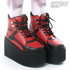 Japan Harajuku Cyber Punk Darth Maul Harley Quinn Hi Top Sneaker Platform Boot