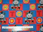 Thomas tank train engine & friends cotton quilting fabric *Choose design & size