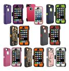 New Otterbox Defender Series Impact Resistant Hard Case +Holste for iPhone 5/5S